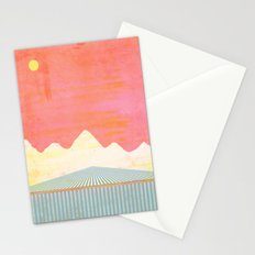 The Falls at Sunset Stationery Cards