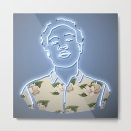 Childish Gambino - Neon Sign Metal Print