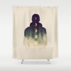 Night Air Shower Curtain