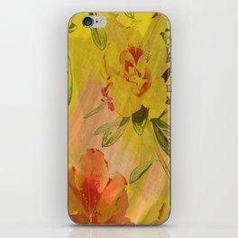 hi-def hibiscus iPhone Skin