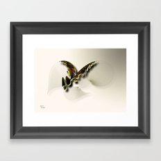 Butterfly Abstract Framed Art Print