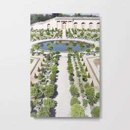 The Orangerie at Versailles Metal Print