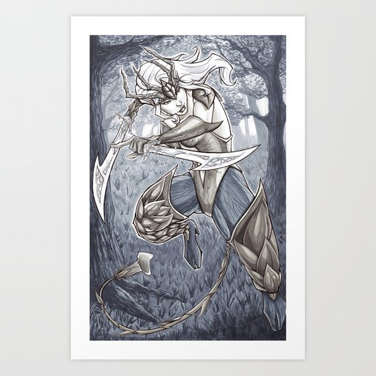 Hamadryad - Camelot Unchained Art Print