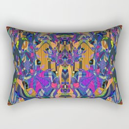 Psychedelic Essentials Trip Print 1 Rectangular Pillow