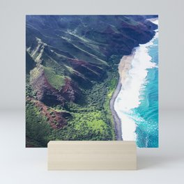 Hidden Beach In Heavenly Tropical Paradise Mini Art Print