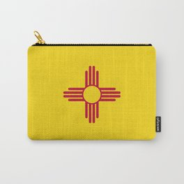 New Mexico Flag Carry-All Pouch