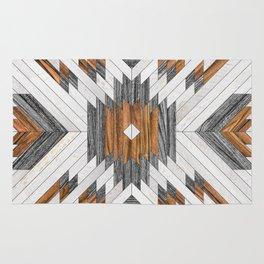 Urban Tribal Pattern 8 - Aztec - Wood Rug