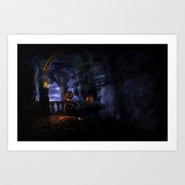 Castlevania: The Bridge Art Print