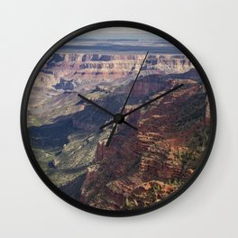 A New Canyon, A New View Wall Clock