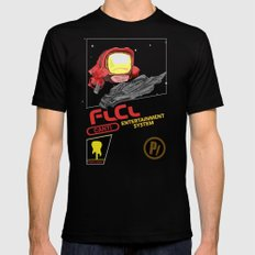 NES FLCL X-LARGE Black Mens Fitted Tee