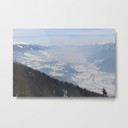 Wunderfull Snow Mountain(s) 1 Metal Print