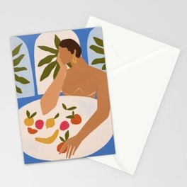 Afternoon snacks Stationery Cards