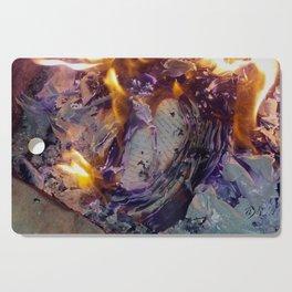 Beautiful Journal Burning Cutting Board