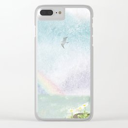 The sky with lingering scent of rain | Miharu Shirahata Clear iPhone Case