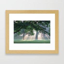 The Great Circle Earthworks  Framed Art Print