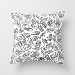 Paleontology Dream Throw Pillow