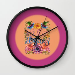Hello Gorgeous 2 Wall Clock