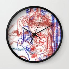 Sleepy_head Wall Clock
