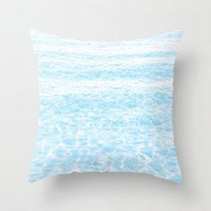 peaceful sea Throw Pillow
