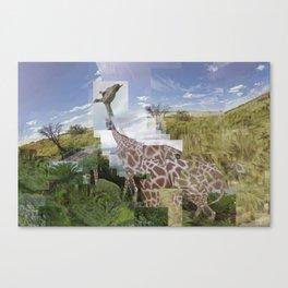 Mash Savana sitting room, Sud Africa- Hong Kong-Unit Kingdom Canvas Print
