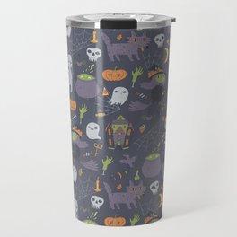 Cute Happy Halloween Travel Mug