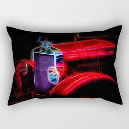 Fractal Antique auto Rectangular Pillow