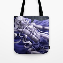 Undertaker in Blue Tote Bag
