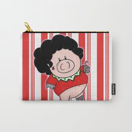 Candy Canes and Ugly Christmas Sweaters Carry-All Pouch
