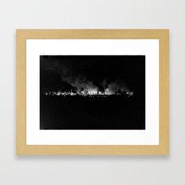 Vintage Pollution 2 Framed Art Print
