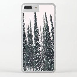 Winter day 11 Clear iPhone Case