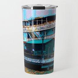 Natchez Riverboat New Orleans Travel Mug