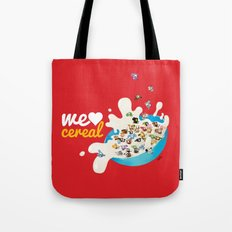 We Love Cereal Tote Bag