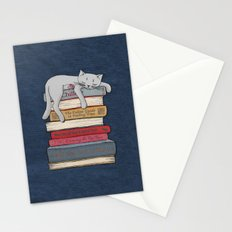 How to Chill Like a Cat Stationery Cards