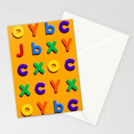Know your ABCs Stationery Cards