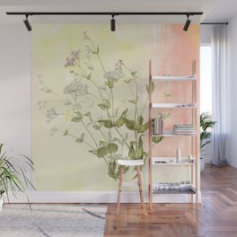 The air the flower breathes Wall Mural