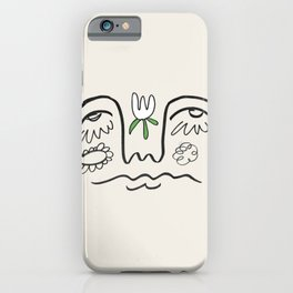Im Feeling Overwhelmed but Optimistic iPhone Case