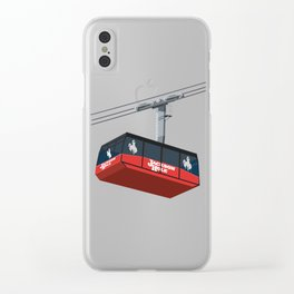Jackson Hole Cable Car Clear iPhone Case