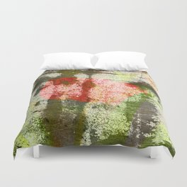 Structured Tulips Duvet Cover