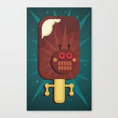 Ice-cream. Canvas Print