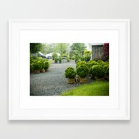 nursery Framed Art Prints featuring Nursery by Indigo & Honey