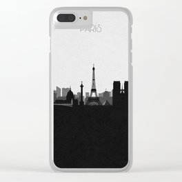 City Skylines: Paris Clear iPhone Case