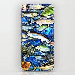 DEEP SALTWATER FISHING COLLAGE iPhone Skin