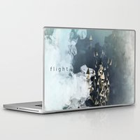 flight Laptop & iPad Skins featuring flight by Rafael Igualada