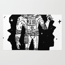 Intergalactic Bone Man Rug