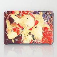 koi fish iPad Cases featuring Koi Fish by Georgiart