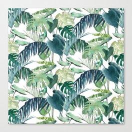 Botanical Palm Canvas Print