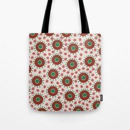 Carousel Christmas Tote Bag