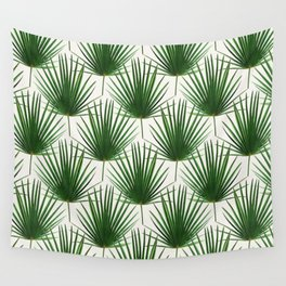 Simple Palm Leaf Geometry Wall Tapestry