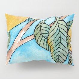 Lemon tree leaves Pillow Sham