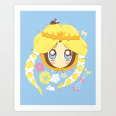 Park Princess Art Print